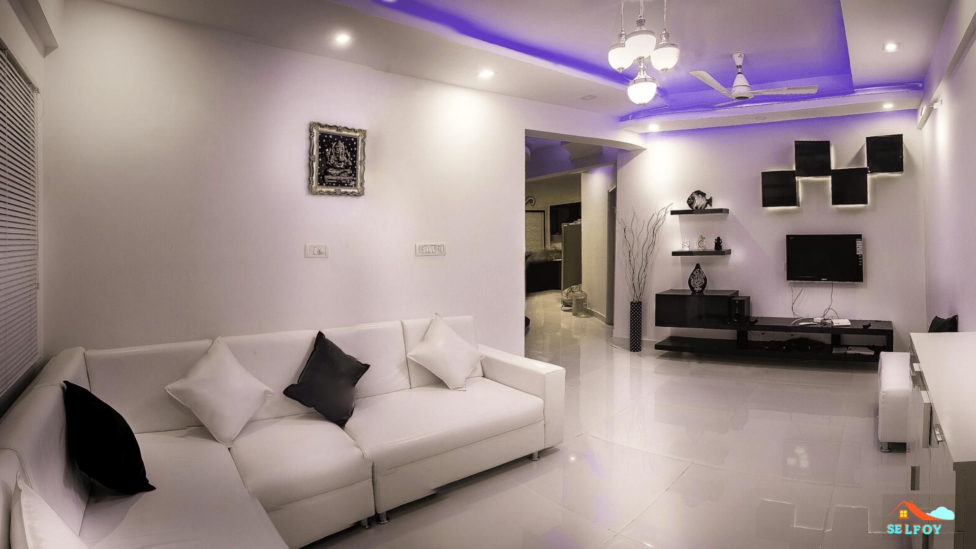 Porcelain tiles flooring with built in vapor barrier