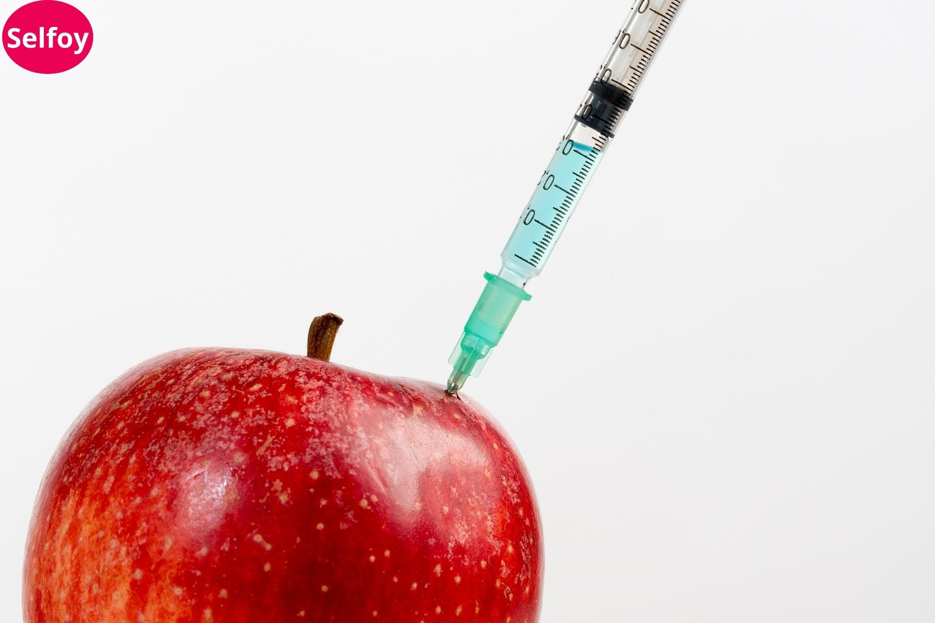 Apple getting injection