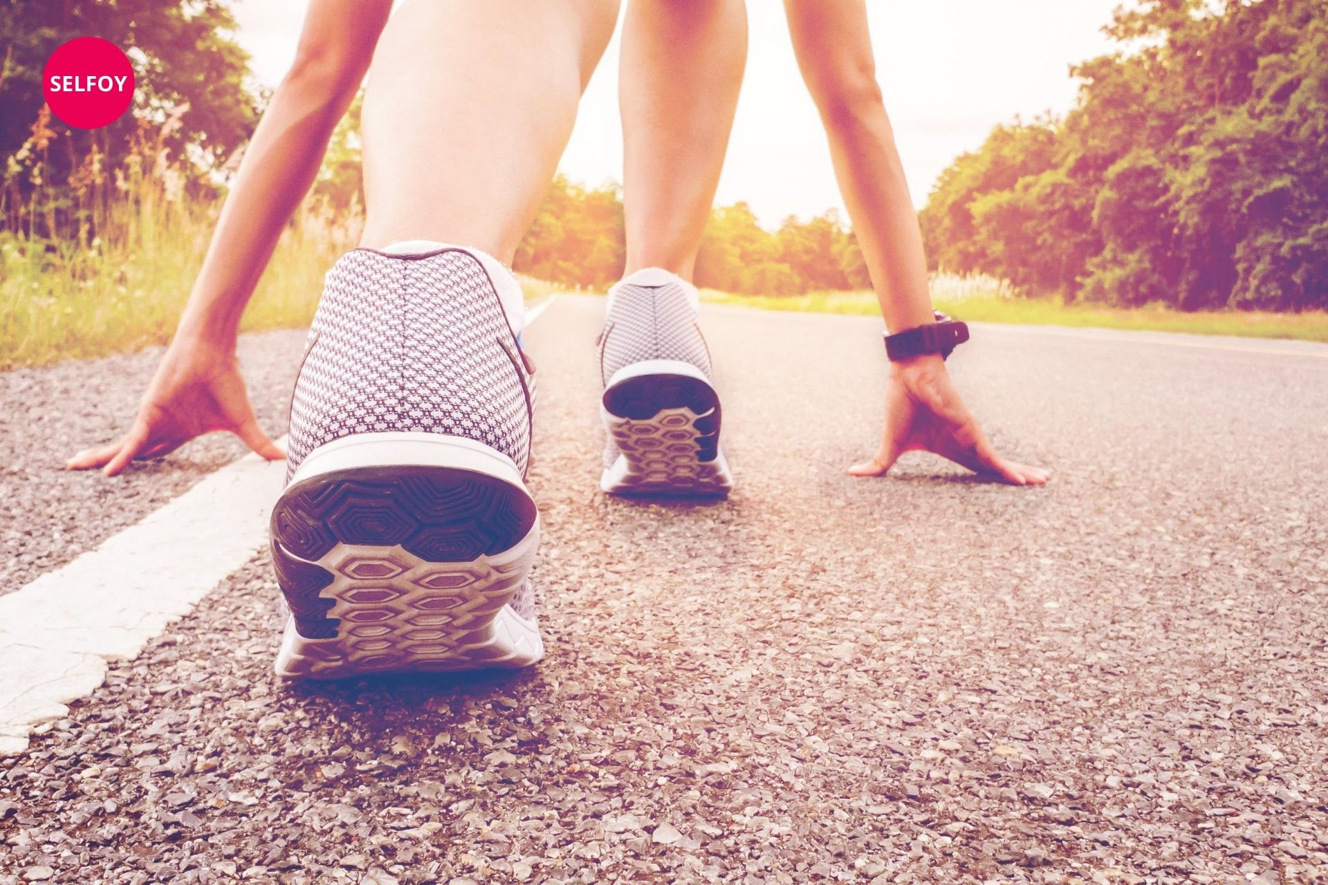 ready to run and maintaining fitness helps boosting self confidence