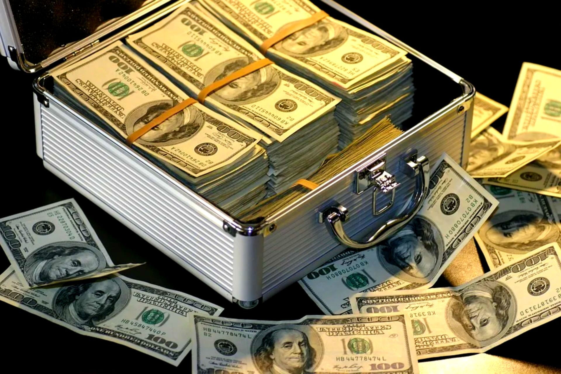 Lot of money through Get rich quick schemes that actually work
