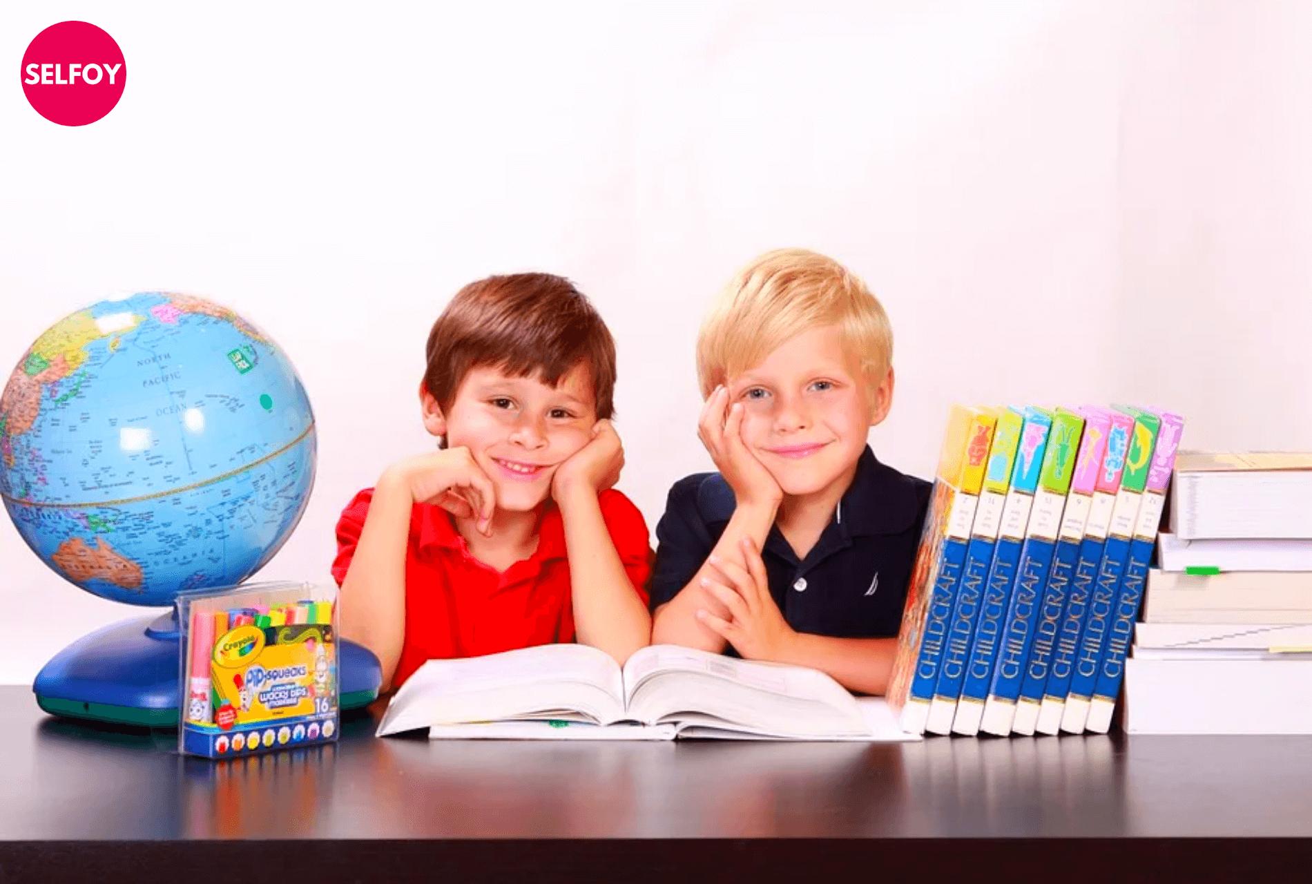 self-esteem-activities-for-kindergarteners-Two-preschoolers-smiling